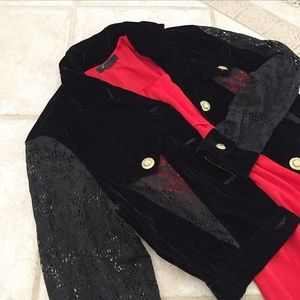 🆕 NWT Vintage 90's Addiction black jacket